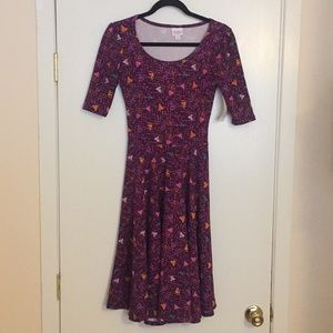 XS LuLaRoe Nicole Dress D05 836
